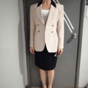 Brand New 1990's Petite Sophisticate Skirt Suit